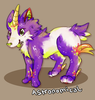 Astronomical: A MelonyCreations' Adoptable by Eric4372