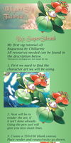 Lilligant Sig Tutorial by SuperSleuth10