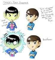 Spock's First Smoothie by DiTheCreator