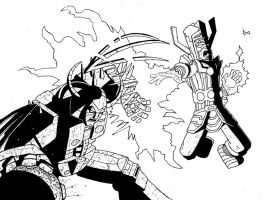 Galactus vs Unicron by Kid-With-The-Hat