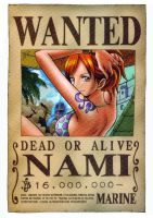Nami wanted by juju67