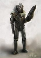 Soldier Concept 2 by Mark-JE