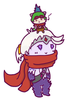 varus and teemo by prochyprochy