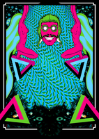 Baron Optical Illusion Poster by SeventhSealDesigns