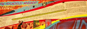 1960's Psychedelic Design Movement by Willgilliganohmy