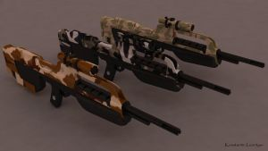 Halo 3 Battle Rifle_02 by KonstantinL