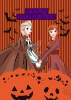 Frozen and Halloween by KYOooTERCERA
