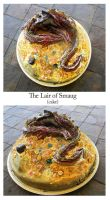 Smaug cake by Scarlet01