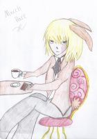 Mello, the March Hare by TrinityKarose