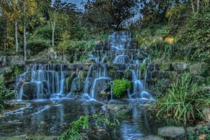 Regent's Waterfall by farigiovanni