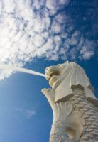 Singapore Merlion by josgoh