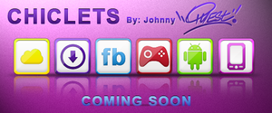 WIP: Chiclets icons by jquest68