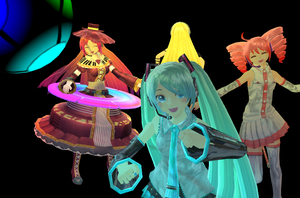 MMD-Disco Party by Shioku-990