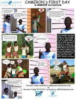 Camp W.O.O.D.Y.  Comic- Cameron's First Day by ImfamousE