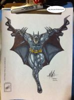 The Batman completed and up close X3 by wsache007