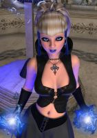 Gothic Azure Princess 4 by WilliamRumley