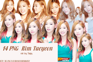 PNG Kim Taeyeon by Supy-phh