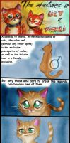 Two red cats -  strip 6 - The Red Legend by FuriarossaAndMimma