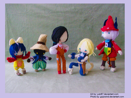 Final Fantasy IX Gang by Yuki87