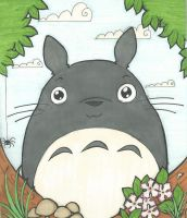 Totoro by AnnoyinglyCute