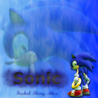 Sonic The Hedgehog by redella