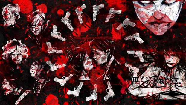 Three Cheers For Sweet Revenge Wallpaper by Eldritch-Prodigy
