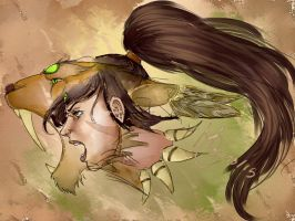 Nidalee - League of Legends by MadThaigy