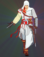 Altair - Ezio _ Finished by Alentrish