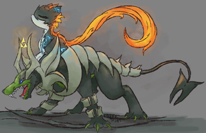 Quick Piece: Twilight Princess/Pokemon Crossover by AbyssinChaos