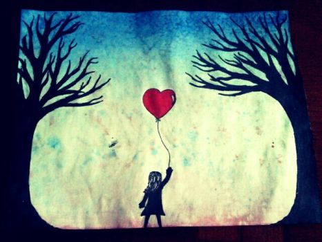 Love is a fact, Letting go is an option by BecomingLiet