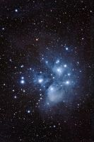 M45 - Pleiades High Resolution by DoomWillFindYou