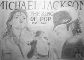 Michael jackson Poster-thing by AtokLanzeros