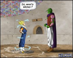 -DBM- Vegetto VS Super namek - color 01 by DBZwarrior