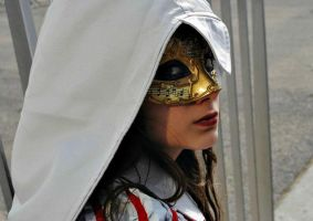 Venice Gold Mask by ValkyrieBab