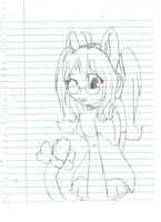 Me as a Vocaloid (w.i.p) by Radiant-Garnet