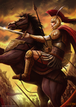 Alexander the Great by Serathus