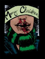punk rock christmas card by Blisterlips