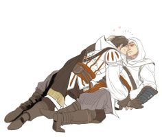 Ezio and Altair by znak34