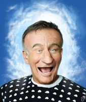 Robin Williams by martianink