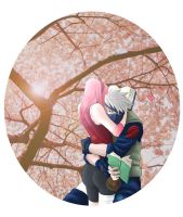 Under the Cherry Tree by cocoameldis