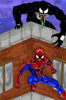 Spidey Colored by Jarrett-Ervin