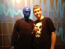 So I saw the blue man group by Kokyal0rd