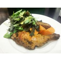 Roasted Chicken Leg with Herbs by nosugarjustanger