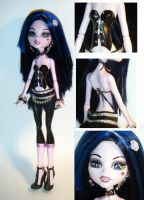 Custom Monster High Draculaura by kalavista