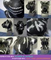 Painted Gas Mask: Neirin by Catwoman69y2k