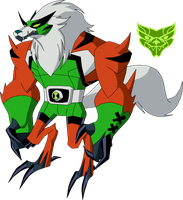 Biomnitrix Unleashed - Rathwolfer by rizegreymon22