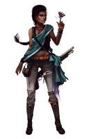 Earie character design - Leela Sarin by Julia-Alison