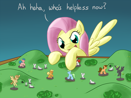 Fluttershy In Command by MichaelTheBrony