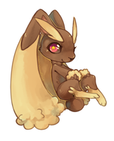 Lopunny by CookieHana