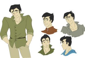 Bolin Sketches by Ty-Chou